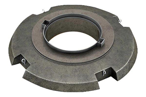 ССД Плита опорная усиленная УОП-6 с корпусом люка ТМР
