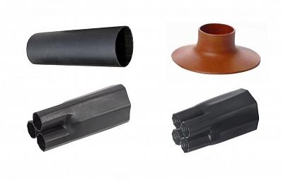 Термоусаживаемые компоненты для кабельных муфт